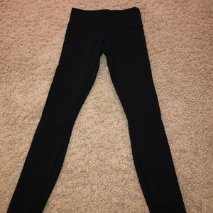 Black lulu leggings- size 2